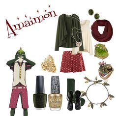 """""""Amaimon"""" by casualanime on Polyvore"""