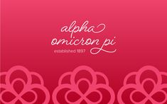 AOII offers branded digital wallpapers/backgrounds for phones, tablets, and computers! Phone Backgrounds, Wallpaper Backgrounds, Wallpapers, Alpha Omicron Pi, Everywhere You Go, Computers, Phones, Neon Signs, Digital