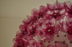 Rosemary - chandelier made of PET bottles