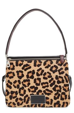 f7f5bf0a8208 MARC BY MARC JACOBS  Ligero - Leopard  Genuine Calf Hair Shoulder Bag  available at
