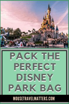 Things Everyone Should Bring For A Day At Disney – The Awesome Disney World Packing List is just a list of suggestions of what to pack for a Walt Disney World vacation. Packing List For Disney, Disney World Packing, Disney World Rides, Disney Vacation Planning, Walt Disney World Vacations, Disney Travel, Vacation Ideas, Travel Packing, Vacation Games