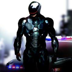 Robocop concept art by uncredited artist