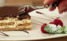 Fantastický koláč s vanilkovým krémom bez pečenia, ktorý máte urobený raz dva - Báječná vareška
