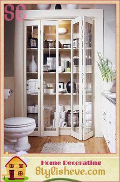 Bathroom Storage Cabinet and Shelves