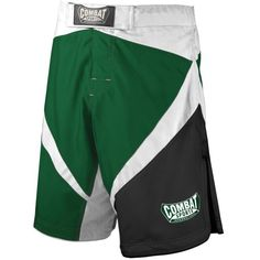Combat Sports Fight MMA Boardshorts GreenWhiteBlack 36 -- Check this awesome product by going to the link at the image.
