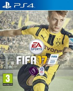 FIFA 17 - Standard Edition (PS4) £32.00 to buy with free UK delivery.  Amazon Bestsellers Rank: 37 in PC & Video Games (See Top 100 in PC & Video Games)      #1 in PC & Video Games > Sony PlayStation 4 > Games > Sports     #1 in PC & Video Games > Games > Sports > Football