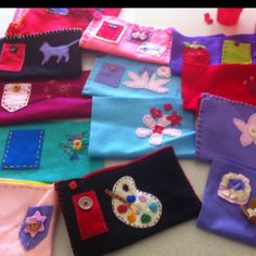 Lots Of Felt projects to be finished
