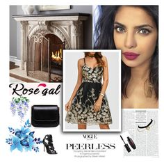 """RoseGal 39"" by followme734 ❤ liked on Polyvore featuring Neiman Marcus"