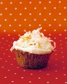 Carrot Cupcakes with Cream Cheese Icing Recipe