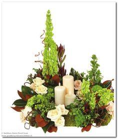 #Bloemschikken en #Bruidswerk met #Oasis in Natuurlijke tinten - Goedkoop-bloemschikken & Pompoenzaden-decoshop.nl