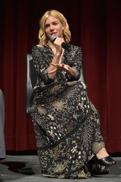 Sienna Miller - 'Burnt' Q&A Panel and Reception With Bradley Cooper and Sienna Miller