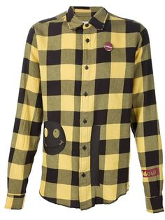 Shop Sold Out Frvr smiley flannel shirt in ODD. from the world's best independent boutiques at farfetch.com. Shop 400 boutiques at one address.