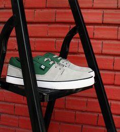 DC Shoes, DC Tonik Grey/Grey/Green