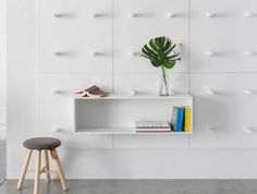Dots bookshelf by Aris Architects for Polarislife
