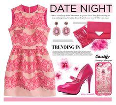 """Casetify - Pink California: 12/09/16"" by pinky-chocolatte ❤ liked on Polyvore featuring Casetify, RED Valentino, Sara Battaglia, Kenneth Jay Lane, MyStyle, polyvorecommunity, beoriginal, polyvorefashion and PolyvoreMostStylish"