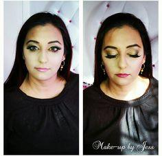 Evening makeup 🌼