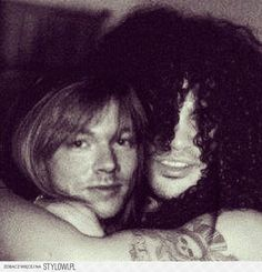 Axl & Slash best buds...back then