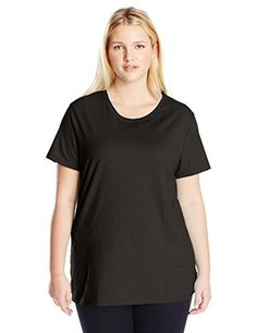 Special Offer: $4.55 amazon.com Just my size women's plus-size short sleeve t-shirt in soft, cotton rich fabric offers all the classic features of a short-sleeve tee and more. Lightly ribbed, with a wide crew neckline and back neck tape.Soft, cotton-rich fabric feels great against your...