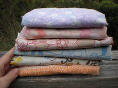 growmama: Vintage pillowcase? No, a shopping bag!