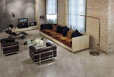 Urbanite Porcelain Tile by Florida Tile #tileflooring #porcelaintile #floridatile #housetrends #freshfinds