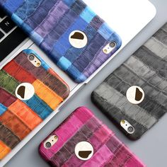 Caso de lujo para iphone 7 6 6 s para iphone 7 6 6 s además de Cocodrilo PU Cuero de La Cubierta Ultra Delgado PC Dura Protectora Del Teléfono Móvil bolsas