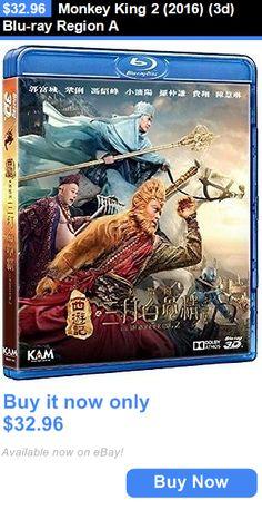 cds dvds vhs: Monkey King 2 (2016) (3D) Blu-Ray Region A BUY IT NOW ONLY: $32.96