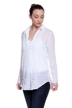 Classic White Shirt - St. Barths Tunic