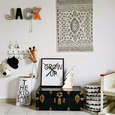 the boo and the boy: kids' rooms from live loud girl