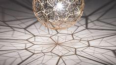 Tom Dixon's New Lamp Throws A Magical Matrix Of Shadows.... How do I make this mine....?