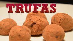 Trufas de chocolate con almendras, nuez o avellana| ¿Como hacer Trufas c...