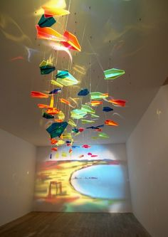 Projection art of Rashad Alakbarov