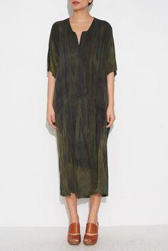 OLIVE CAFTAN DRESS From ShopHeist.com!