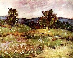 Peisaj de la Moinesti (Landscape from Moinesti) - Stefan Luchian
