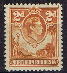 Stamps Northern Rhodesia 1938 Animals SG 31 Fine Mint SG 31 Scott 31 Stamps for Sale Take a Look