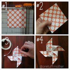 paper pinwheel instagram