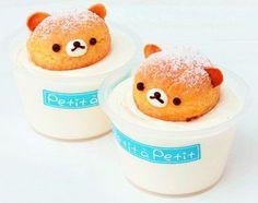 Bear Dessert Roar! | # Rilakkuma - collaboration | Pinterest