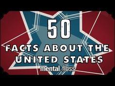 Наборы занятных фактов обо всем на свете + креативная графика вокруг говорящей головы (mental_floss)