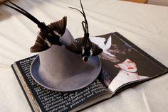 Fair Lady at the Races: Stephen Jones Designs Stella Tennant's Ascot Hat  by Sarah Mower