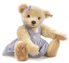 Steiff 681998 Wizard of Oz Dorothy Bear Limited Edition