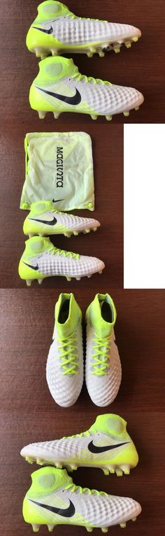 Men 109133: Nike Magista Obra Ii Fg Soccer Cleats Yellow White Mens 844595-109 Size 8.5-10 -> BUY IT NOW ONLY: $129.95 on eBay!