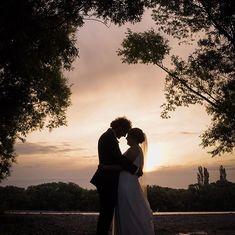 A romantic wedding silhoutte in Ashburton New Zealand New Zealand, Wedding Photography, Romantic, Couple Photos, Couples, Couple Shots, Couple Photography, Couple, Romance Movies
