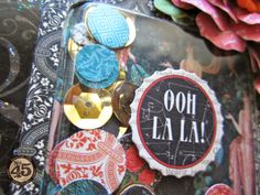 Graphic 45 Couture Shaker Tag Tutorial by Maria Cole.