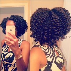 Nice braid-out.