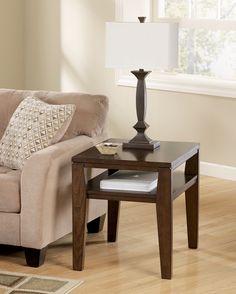 Ashley Deagan T334-3 Signature Design Rectangular End Table -