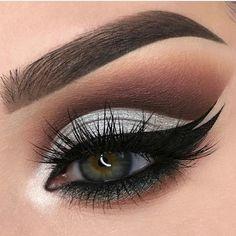 Can Makeup, Cute Eye Makeup, Basic Makeup, Sexy Makeup, Makeup For Teens, Makeup Goals, Gorgeous Makeup, Beauty Makeup, Eyeshadow Dupes