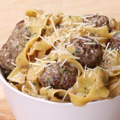 One-Pot Swedish Meatball Pasta...