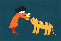 Kanae Sato illustration