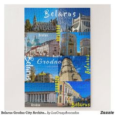 Belarus Grodno City Architecture Гродно Пазл Jigsaw Puzzle
