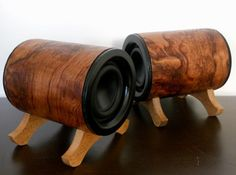 Odyssey Audio Speakers - Bubinga by HinmanAudio