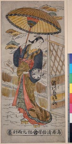 Torii Kiyomasu II Date:1706-1763 (artist)
